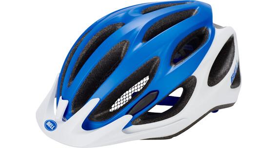 Bell Traverse Helmet mat force blue/white